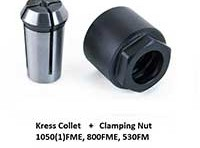 KRESS Collet & Clamping Nut