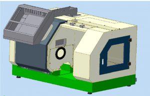 JBEC 280 SERVO CNC LATHE MODEL